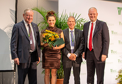 from left to right: Peter Paschke, Agnieszka Schlegelmilch, Helmut Kern, Dirk Sielmann Photo: Christian Held